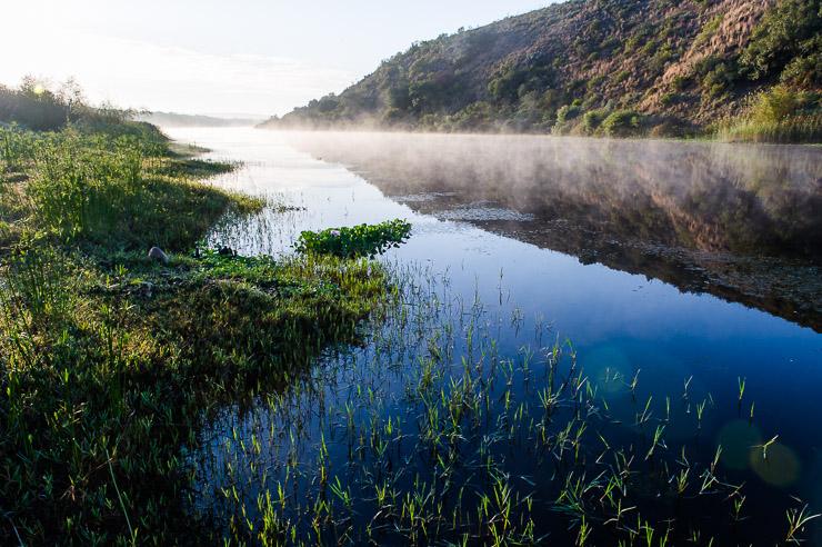 Breede River at Dawn in the Bontebok National Park
